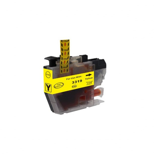 Suit Brother. LC-3319 Yellow Compatible Inkjet Cartridge