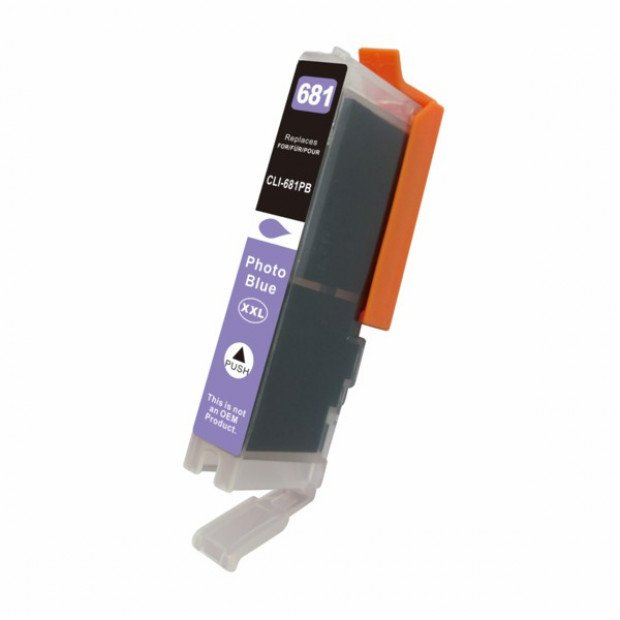 Suit Canon Blue Inkjet Cartridge (Replacement for CLI-681PBXL)