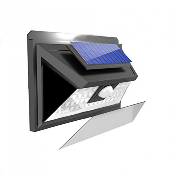 90 LEDs Solar Powered Wireless Motion Sensor Light Image 1