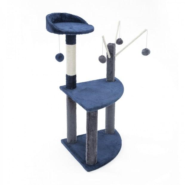 Cat Tree Scratcher LUNA 95cm - BLUE