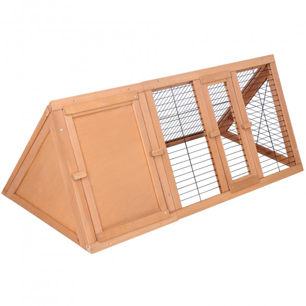 Wooden Pet Hutch Guinea Pig Chicken Ferret Cage
