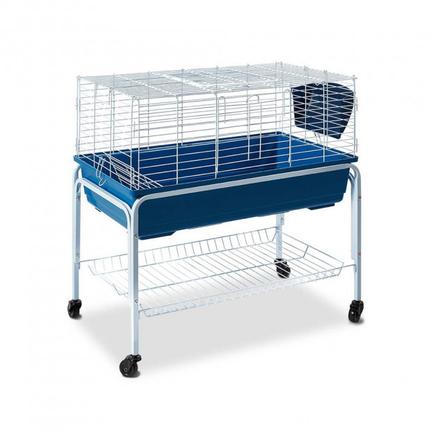 80cm Bunny Home Hutch with Stand