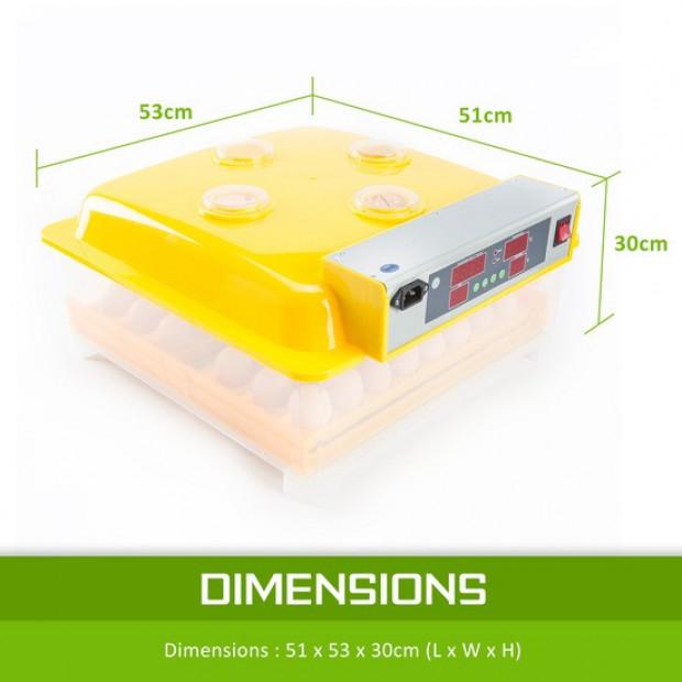 Digital Egg Incubator - 36 Eggs Image 8