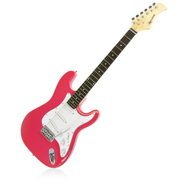Full Size Electric Guitar Pack - Pink