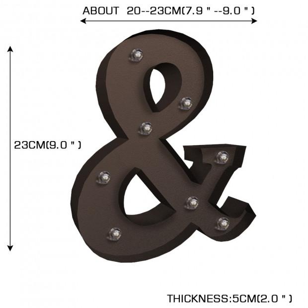 Alphabet Led Letter Lights S Image 5