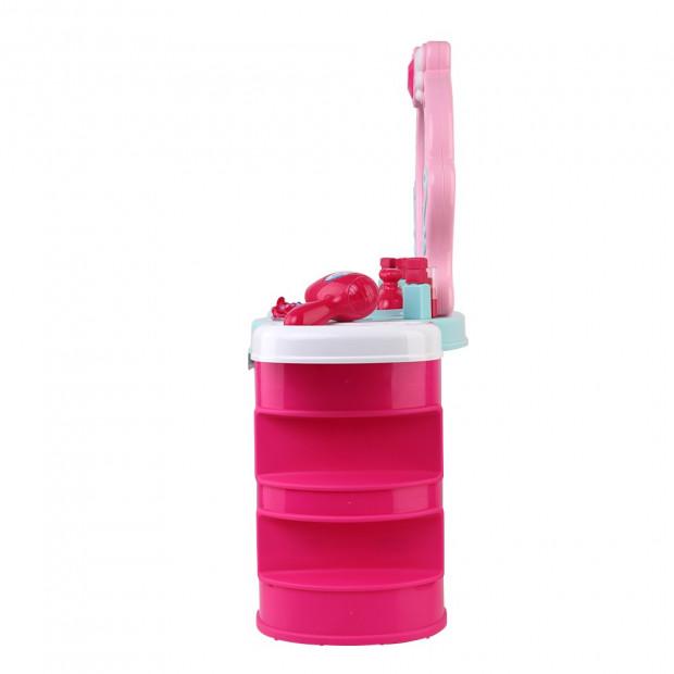 Kids Makeup Desk Play Set - Pink Image 3