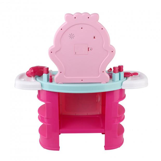 Kids Makeup Desk Play Set - Pink Image 4