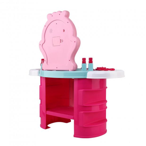 Kids Makeup Desk Play Set - Pink Image 5