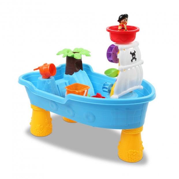 20 Piece Kids Pirate Toy Set - Blue