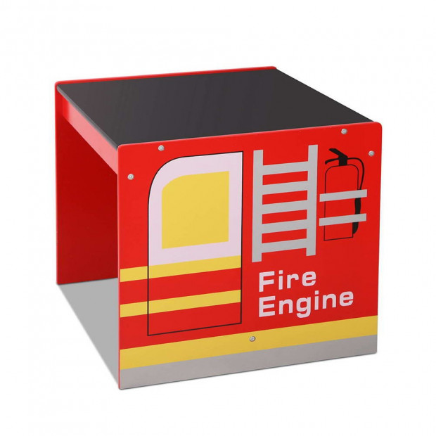Kids Fire Truck Table & Chair Set Image 9