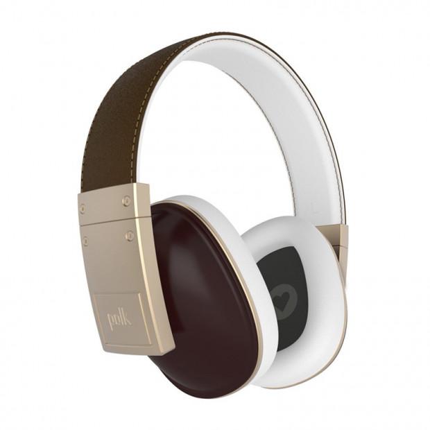 POLK Buckle AM5119-A Over-Ear Headphones - Brown