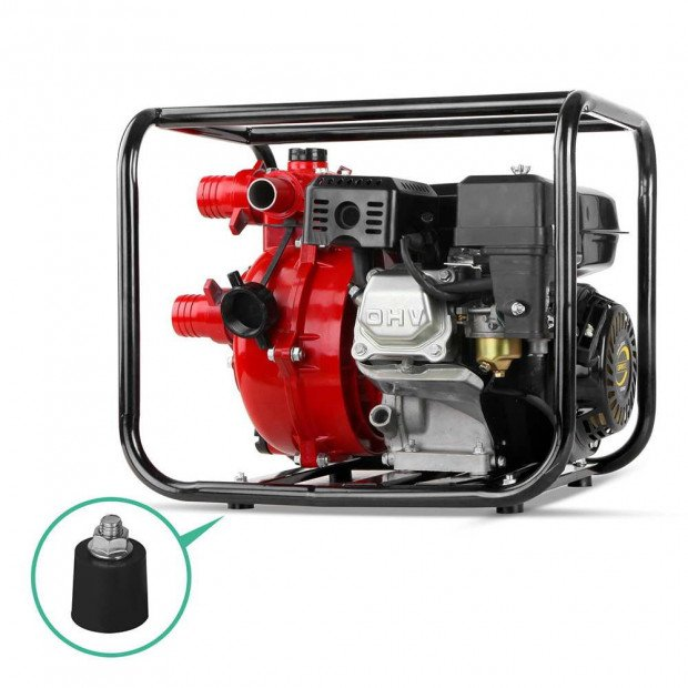 Petrol Engine Water Pump 500L/m 8hp Water Transfer Image 3