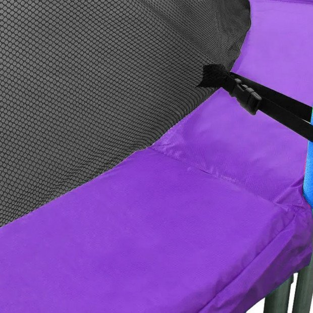 Purple Trampoline Spring Safety Pad