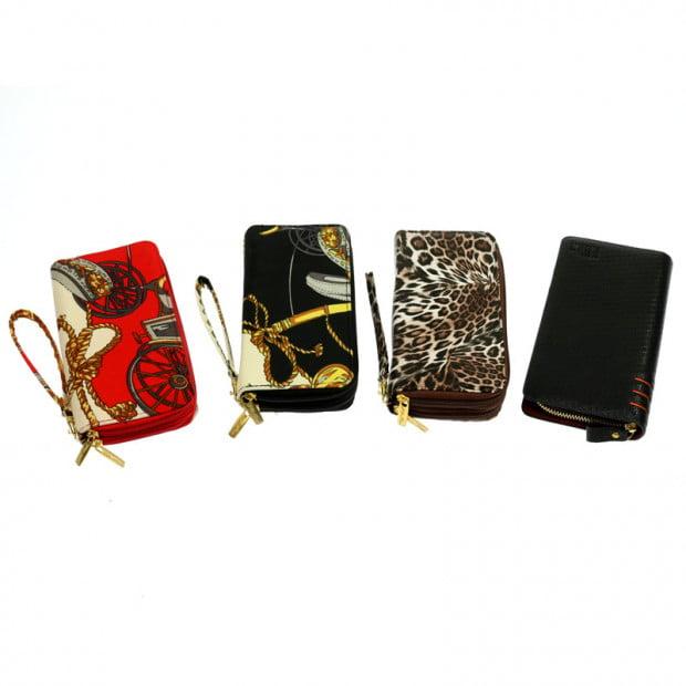 Zip around wallet purse