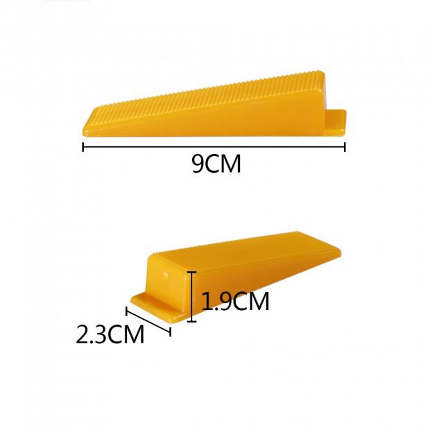 Tile Leveling Tool Wedge 200pcs Image 1