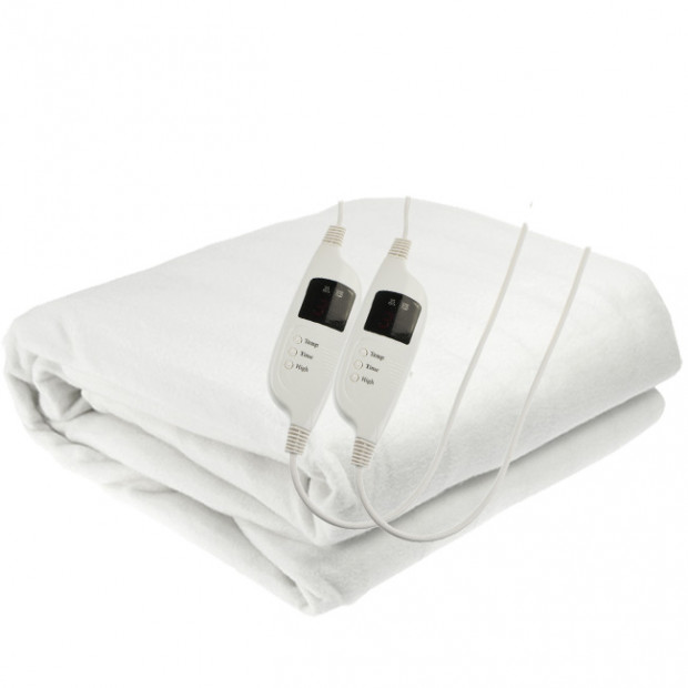 Computer Control Poly Electric Blanket - Queen