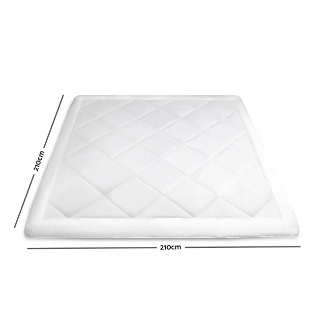 Giselle Bedding Queen Size 700GSM Bamboo Microfibre Quilt Image 1
