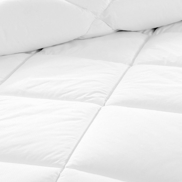 Giselle Bedding Queen Size 700GSM Bamboo Microfibre Quilt Image 4