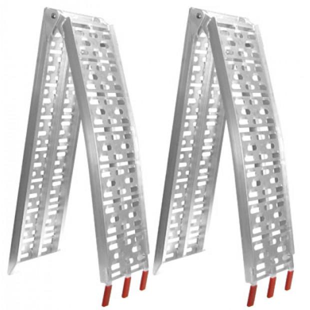 Heavy Duty Aluminium trailer ramps