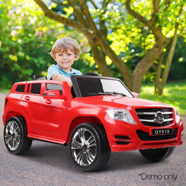 Kids Ride On Car ML450 - Red Image 9