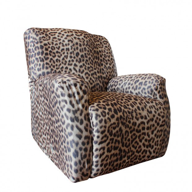 Sure Fit Recliner Pearson Cover - Leopard