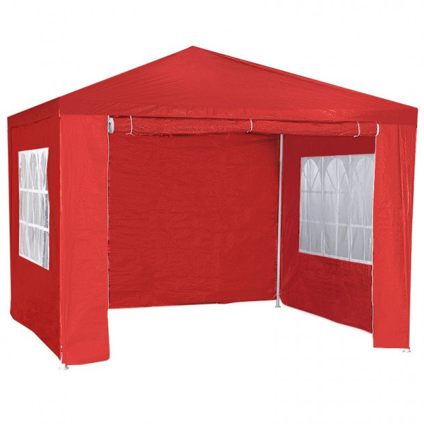 Wallaroo 3x3 outdoor event marquee  Red