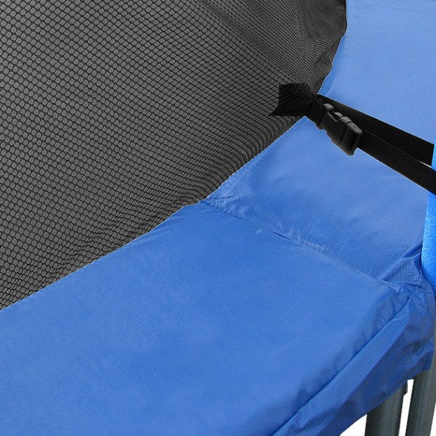 Blue Replacement trampoline spring safety pad