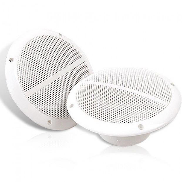 Pair 6.5 inch Marine Waterproof Marine Speakers
