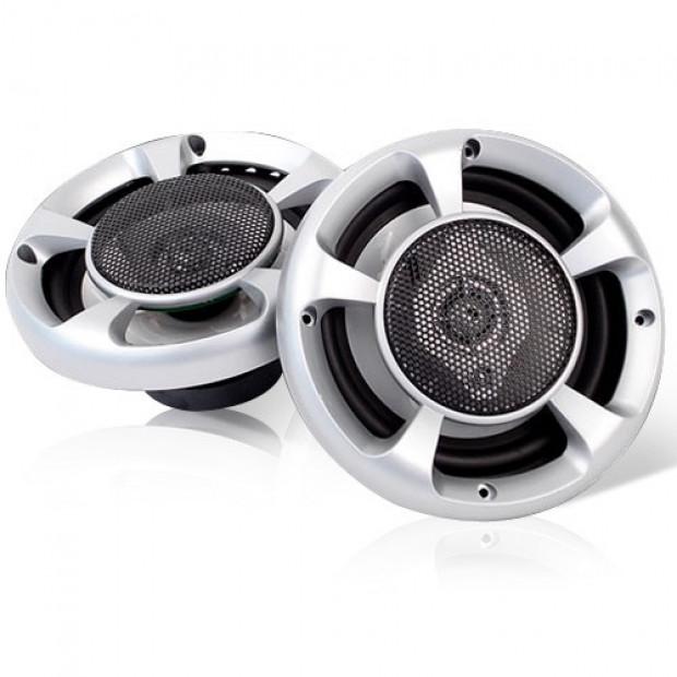 Set of 2 6.5inch LED Light Car Speakers Image 2