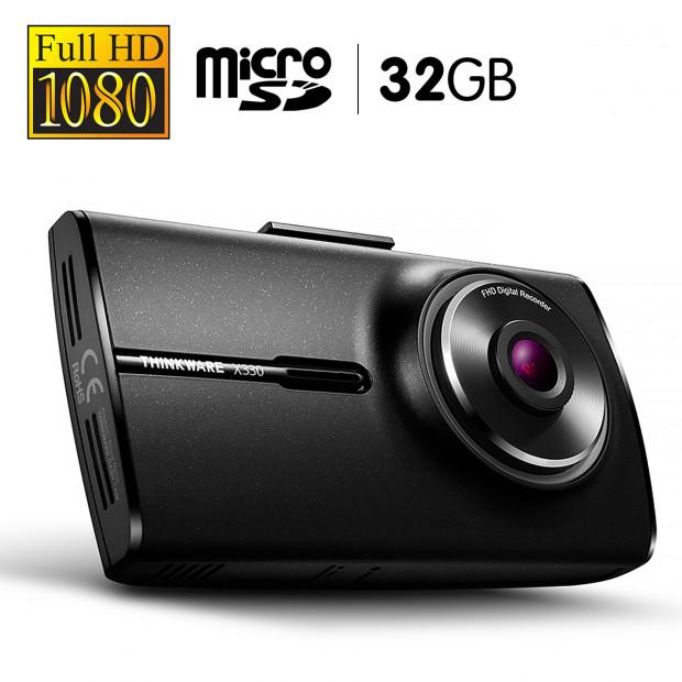 THINKWARE 1080P Full HD Dash Cam With 32GB Micro SD - X33032
