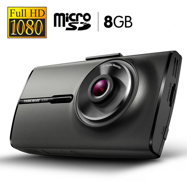 THINKWARE 1080P Full HD Dash Cam With 8GB Micro SD - X35008