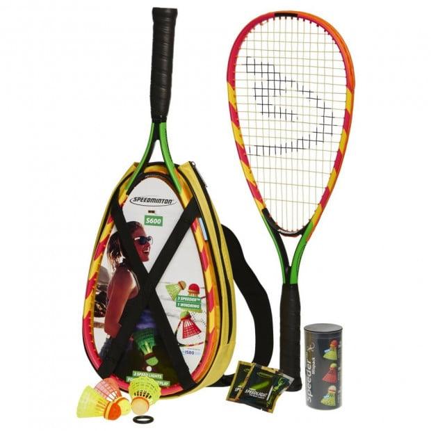 Speedminton Badminton s600 Racket Set