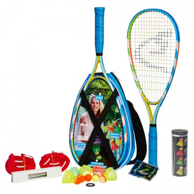 Speedminton Badminton S700 Racket Set