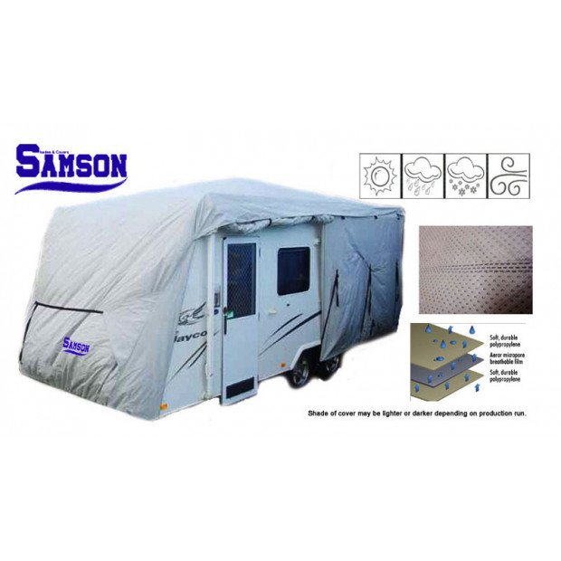 Samson Heavy Duty Caravan Cover 16-18ft Image 2
