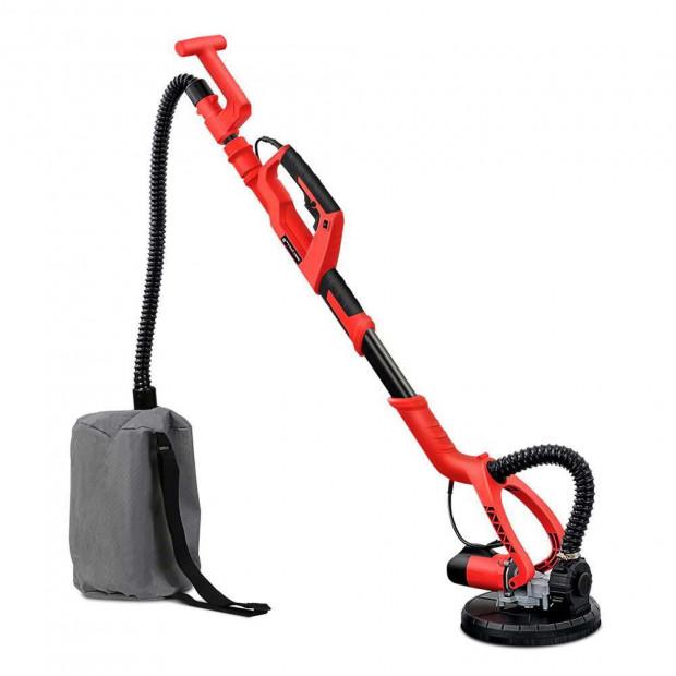 2 in 1 Vacuum Sander with Dist Bag Discs 750W - Red Image 1