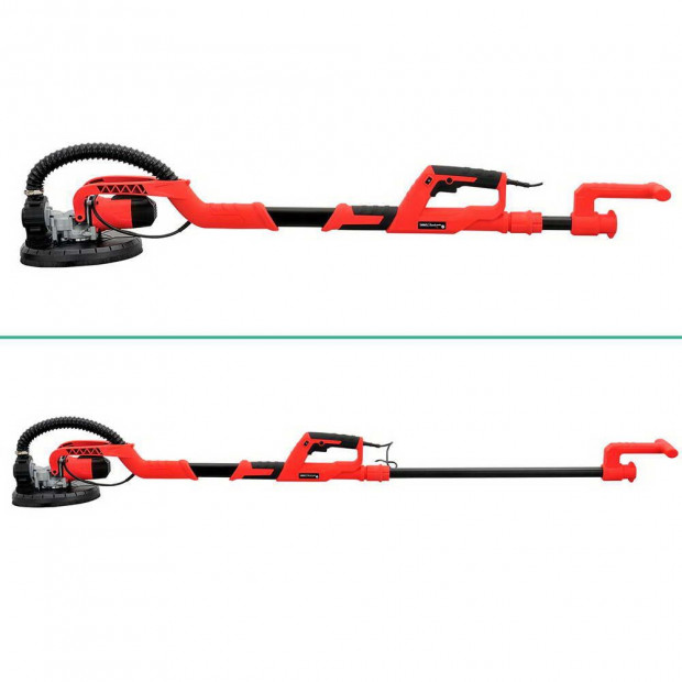 2 in 1 Vacuum Sander with Dist Bag Discs 750W - Red Image 2