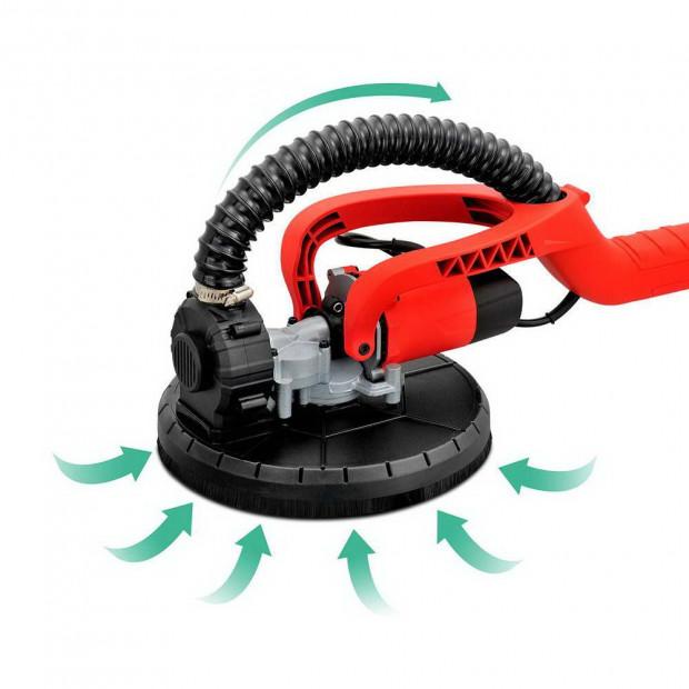 2 in 1 Vacuum Sander with Dist Bag Discs 750W - Red Image 6