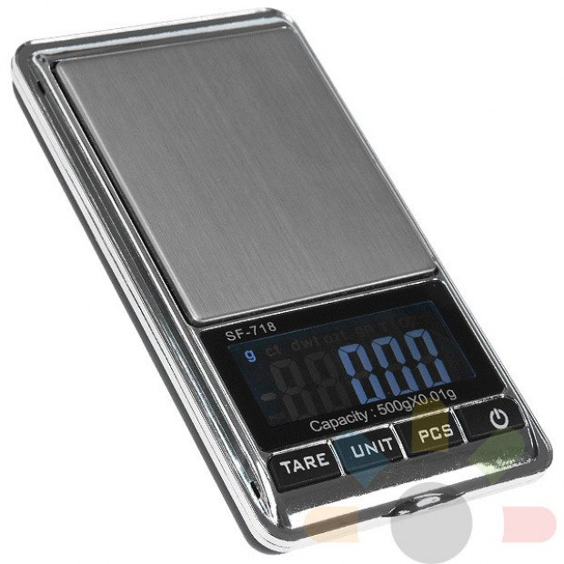 Digital pocket scales 500gm x 0.01