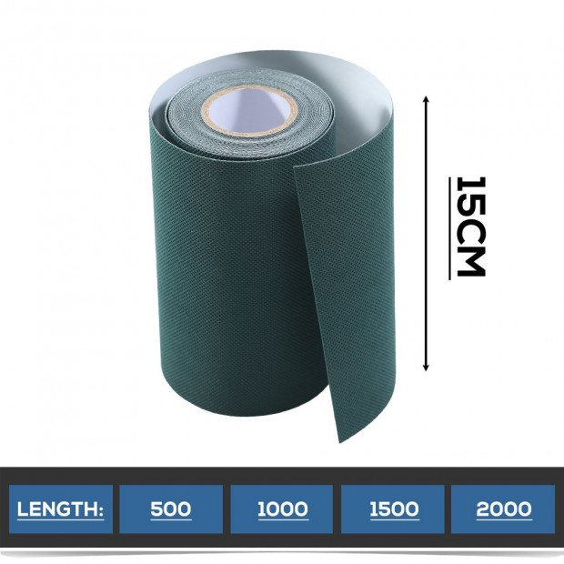 2 Rolls Self Adhesive Synthetic Turf Artificial Grass Tape 20mx15cm Image 5