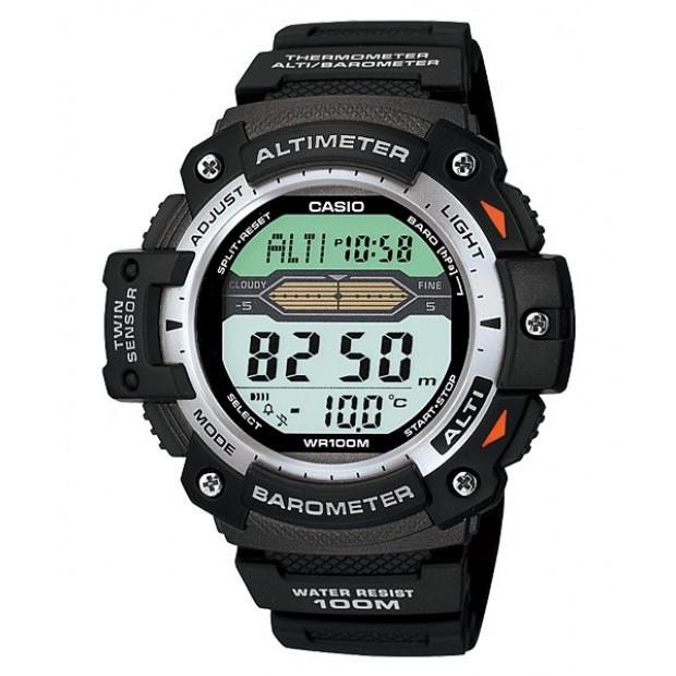 Casio Sport Gear Digital Mens Black Watch SGW-300H-1AVDR