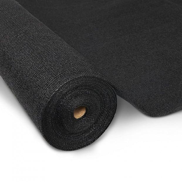 90% Shade Cloth Roll 1.83 x 10m - Black