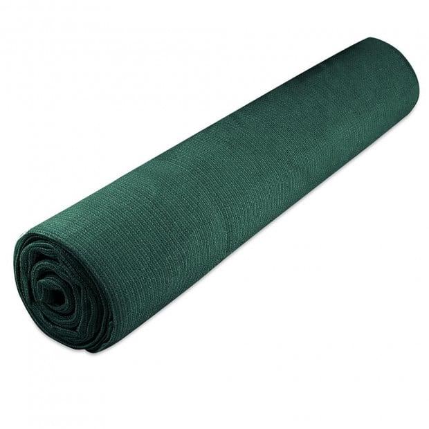 50% UV Sun Shade Cloth Sail Roll Mesh Outdoor 1.83x30m Green Image 2