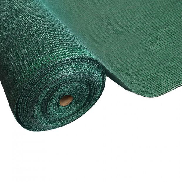 50% Sun Shade Cloth Shadecloth Sail Roll Mesh 3.66x10m 100gsm Green