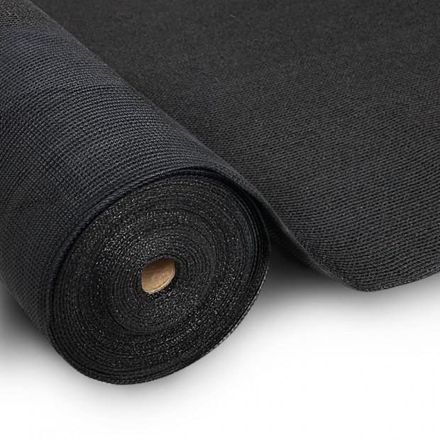 3.66x20m 30% UV Shade Cloth Sail Garden Mesh Roll Outdoor Black
