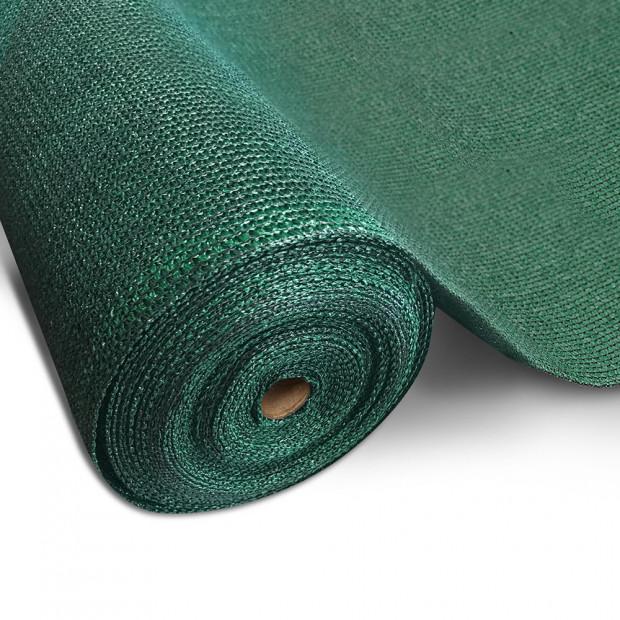50% UV Sun Shade Cloth Sail Roll Mesh Garden Outdoor 3.66x30m Green