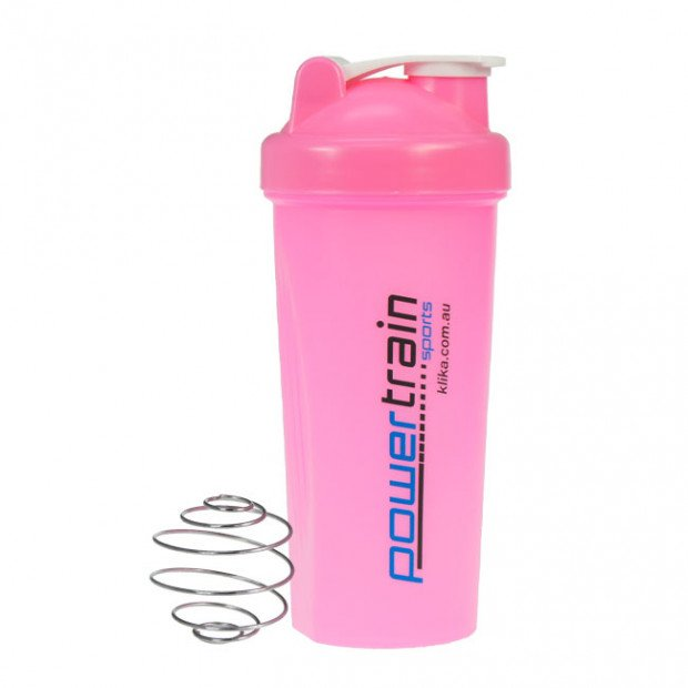 700ml Sports Drink and Protein Shaker Bottle Pink