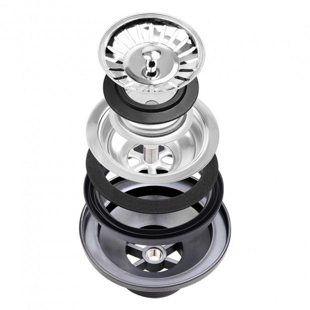 510x450mm Nano Stainless Steel Kitchen Sink Image 8