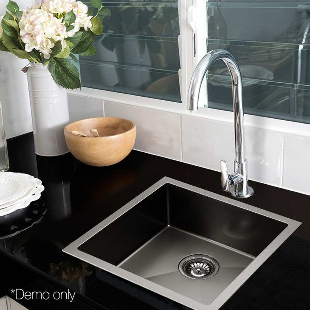 510x450mm Nano Stainless Steel Kitchen Sink Image 9