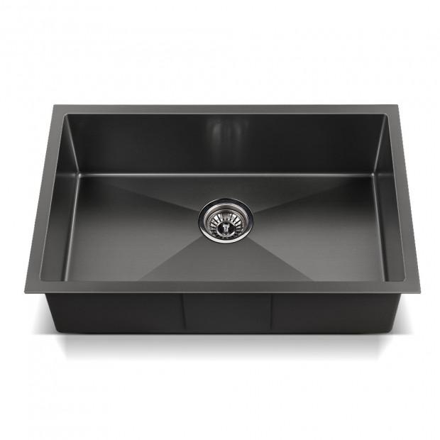 700x450mm Nano Stainless Steel Kitchen Sink Image 2