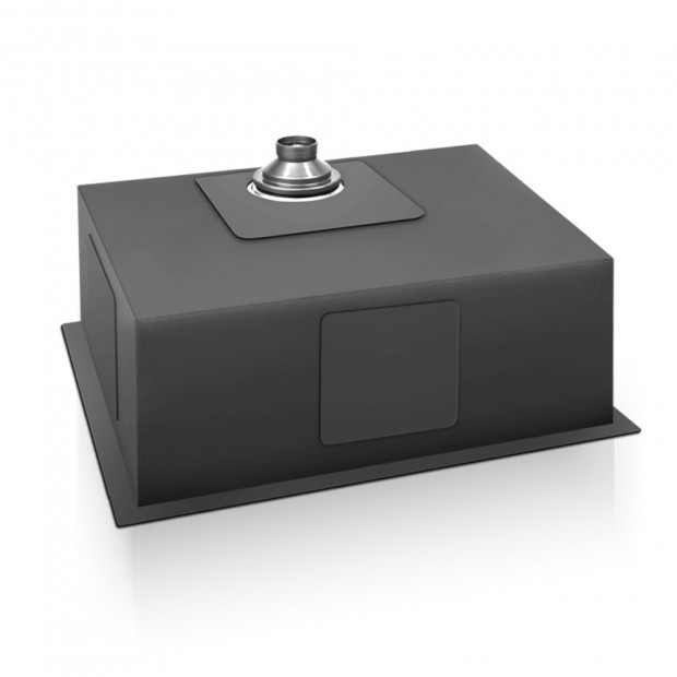 700x450mm Nano Stainless Steel Kitchen Sink Image 3